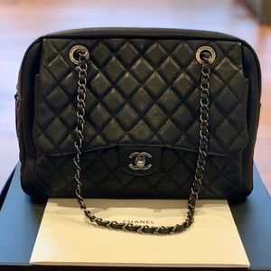 Authentic Large Chanel camera bag